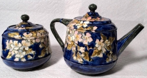 John Bennett Teapot and Sugar Bowl